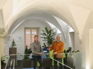 Mario Sucher und Wolfgang Sperl