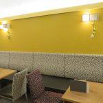 Innenraumgestaltung im Cafe Hahn, 9300 St. Veit/Glan
