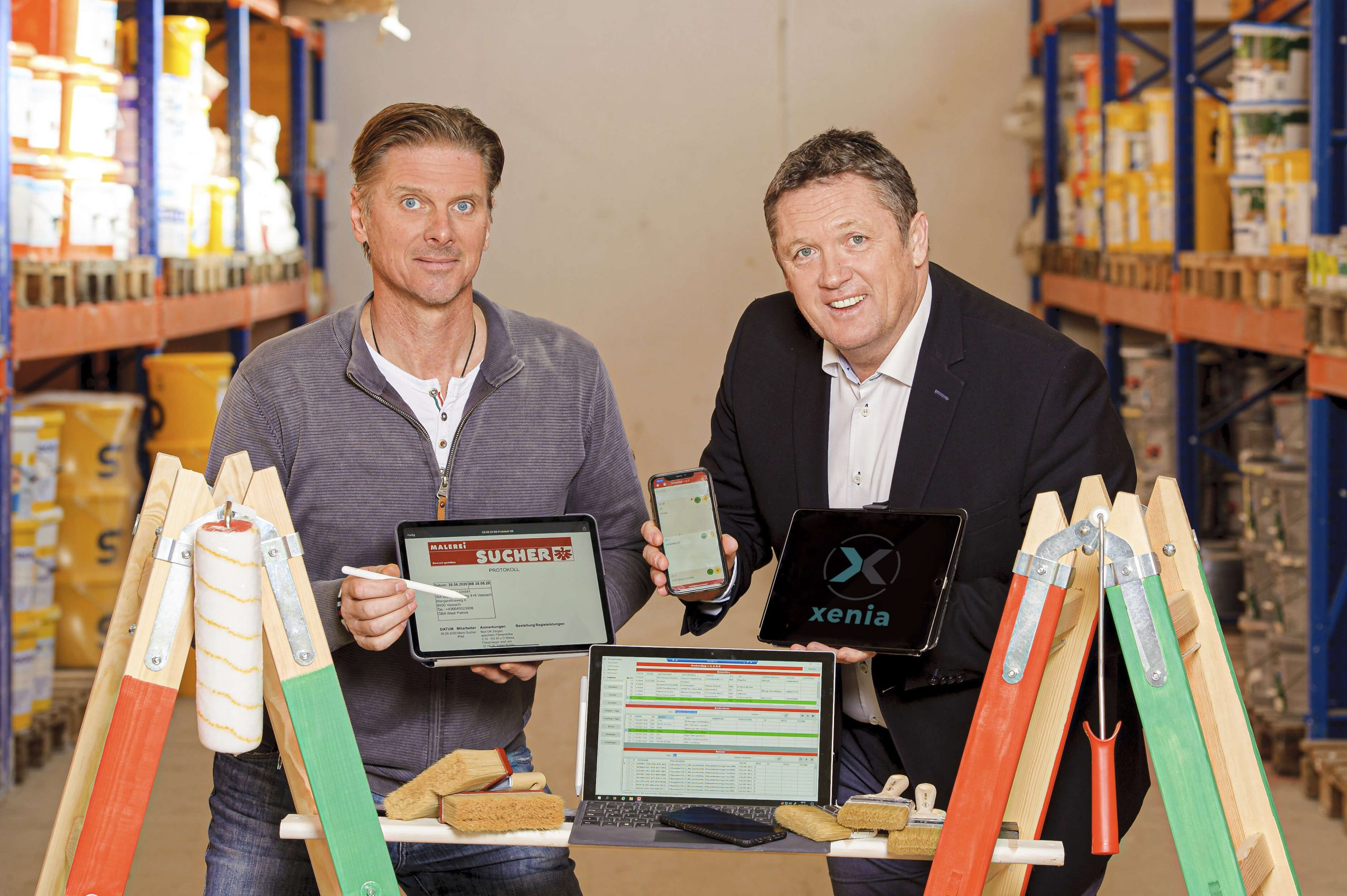 Read more about the article Malerei Sucher GmbH setzt auf innovative App-Lösung!